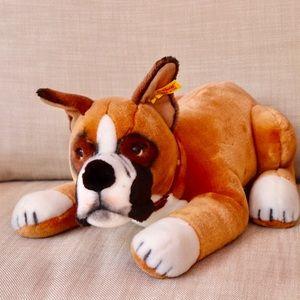 Other - SOLD Steiff Boxer Dog Stuffed Animal Rare